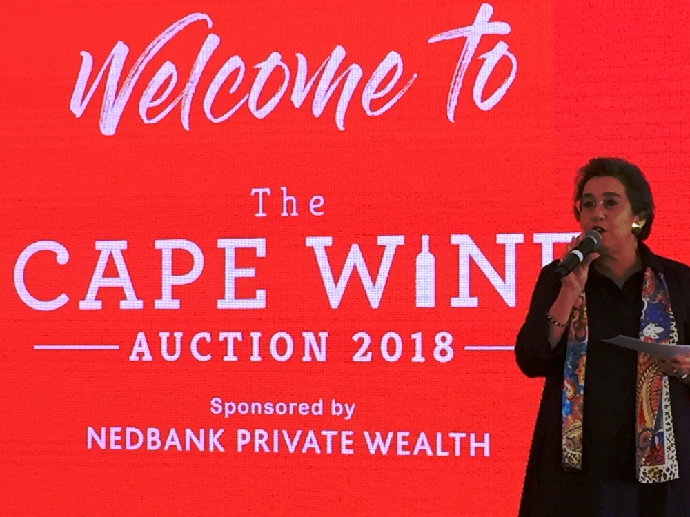 Wendy_Appelbaum_launches_the_2018_Cape_Wine_Auction._Pic_by_Grant_Bushby