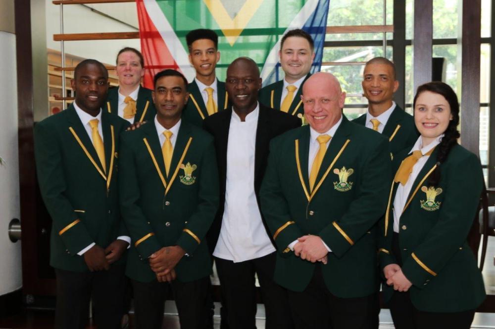 Culinary Team SA with SA Chefs President James Khoza