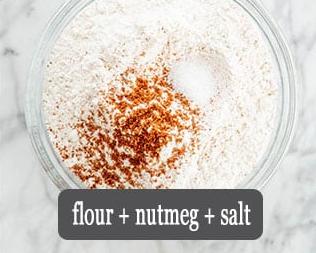 Season the flour