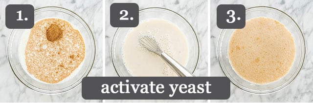 Activate the yeast